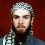 American-born Taliban fighter John Walker Lindh is seen in an undated file photo obtained from a religious school where he studied for five months in Bannu, near Islamabad, Pakistan. U.S. District Judge Jane Magnus-Stinson has scheduled a trial to begin Aug. 27, 2012, for Lindh's lawsuit asking permission to hold daily group prayers in a highly restricted cell block at a federal prison in Terre Haute, Ind.. The site hasn't been determined. (AP Photo/File)